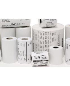 Zebra Zip Ship kvalitets etiketter för Desktopskrivare. Direktermo material som ger överlägsen kvalitet på trycket.