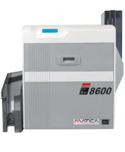 Matica XID8600 retransferskrivare 600dpi. Skriver ut dina kort med extra höga säkerhets funktioner. UV-print, Micro print. Option ILM lamineringsenhet med hologram laminat .