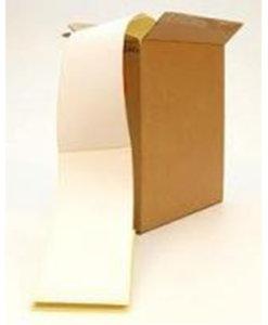 Transportetikett för dig som skriver ut stora volymer. Etiketten matas in i skrivarens bakre slits.