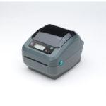 Zebra GX420d etikettskrivare för etiketter upp till 4 tum bredd. Direkttermo eller termotransfer.