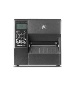 Zebra ZT230 etikettskrivare skrivare för industriell användning finns med flera olika optioner. USB, Ethernet, WiFi, BlueTooth, klippverk, peel off
