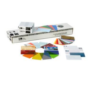 Plastkort Kombi Mifare S50 + EM, vita & utlästa Solid